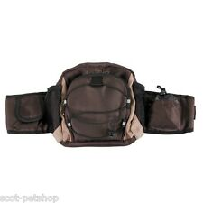 NEW Dog Walking Activity Multi Belt Hip Bag Brown 28861