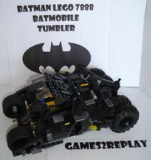 LEGO BATMAN 7888 BAT TUMBLER / BATMOBILE 100% ORIGINAL COMPLETE VGC