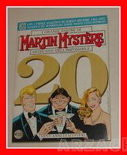 MARTIN MYSTERE 241 Bonelli 2002 SPECIALE VENT'ANNI DI MYSTERI Indice Analitico