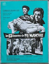 Dossier de Presse 13 FIANCEES DE FU-MANCHU Brides of Fu-Manchu CHRISTOPHER LEE