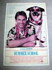 SUMMER SCHOOL Orig GERMAN SHEPPARD DOG Movie Poster MARK HARMON KIRSTIE ALLEN