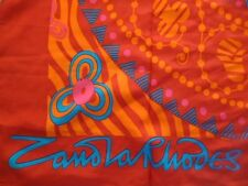 Authentic Designer ZANDRA RHODES giant scarf