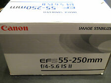BRAND NEW! Canon EF-S 55-250mm f/4.0-5.6 II IS Lens