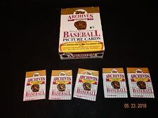 1991 Topps Baseball Archives 1953 Format Wax Box! Case Fresh! Mickey Mantle!