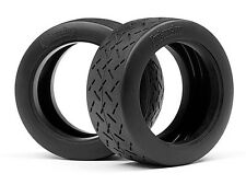 "108076  HPI WR8 Tarmac Tyres D Compound 2.2"" (Pair) SALE"