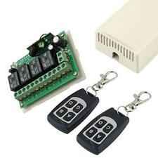 DC12v 10A relais Changer Contrôle à distance sans fil 4CH émetteur+ récepteur ED