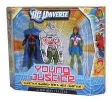 MARTIAN MANHUNTER MINDREADERS 2-PK DC UNIVERSE YOUNG JUSTICE ACTION FIGURE TOY