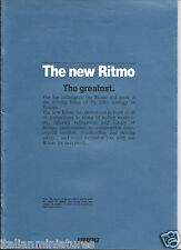 Fiat Ritmo 60 ES 70 85 105TC Super 85 Diesel Brochure Prospekt English 1983