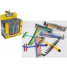 "8.5"" Stunt Glider With Launcher- 8.5"" Make Your Own Plane Kids Flying Toy- 27001"