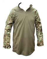 BRITISH ARMY ISSUED UBAC MTP PCS GREEN MARINE ARMOUR SHIRT AIRSOFT PAINTBALLING