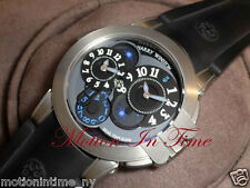 HARRY WINSTON PROJECT Z4 OCEAN DUAL TIME LIMITED 300 PIECES 400/MATZ44ZC.K1