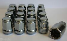 12 X M12 X 1.5 ALLOY WHEEL NUTS & LOCKING FIT FORD B MAX ESCORT FIESTA