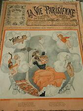 Un Bonnet aux Vents ! Petits anges qui soufflent Couverture Print Cover 1910
