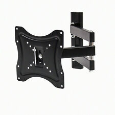 "22""-42"" LCD LED Plasma Flat Tilt Full Motion Swivel TV Wall Mount Bracket Black"
