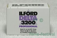 10 rolls ILFORD DELTA 3200 Professional 35mm 36exp B&W Film