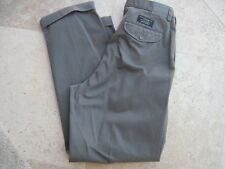 NWT Banana Republic Men's Pleated Smithfield Chinos Pants Olive Size 35R