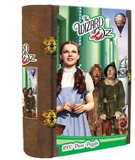 wizard of oz masterpieces inc 1000 PIECE IN NICE MAGNETIC CLOSURE BOOK BOX