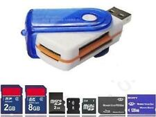 CHIAVETTA USB 43 IN 1 MULTI MEMORY CARD READER SD Mini SDHC MS Miro M2 TF MMC