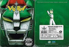 Voltron Collection 3 Green Lion Tin Case DVD Box Set (ripped plastic wrap)