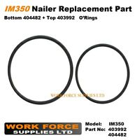 Replacement IM350 set of o'rings top fan 403992 / bottom 404482 For Paslode