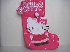 Sanrio HELLO KITTY Christmas STOCKING 15""