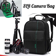 Waterproof Digital DSLR SLR Camera Bag Shoulder BackPack Case For Canon For Sony