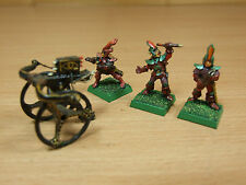 CLASSIC METAL 1980'S DARK ELF REPEATING BOLT THROWER 3 CREW PAINTED (1520)