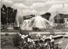 """Alte Postkarte - Karlsruhe - Wasserspiele - """"Kugel"""""""