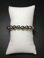 Faceted Pyrite Stone Bracelet♥Self Confidence♥Remove Blockage♥Good Feelings♥