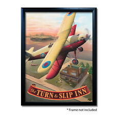 TURN & SLIP INN PUB SIGN POSTER PRINT | Home Bar | Man Cave | Pub Memorabilia