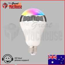 GMH Bluetooth Smart LED Bulb Music Light Speaker (B22 and E27)