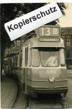 11 Orginal Fotos Strassenbahn Amsterdamm ca. 60ger - 70ger Jahre A_348