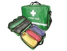 Emergency First Aider Responder First Aid Kit Trauma Bag with Pockets EMPTY