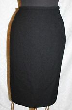 Jaeger 100% Wool Straight Skirt 14 Pencil Knit Classic