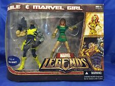 Cable Marvel Girl X-Men 2 Pack Marvel Legends Hasbro Walmart Exclusive Hasbro 6""
