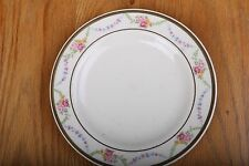 Vintage Edwin M Knowles China Co Garland Pattern Bread Plate Made In USA