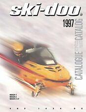 Ski-Doo parts manual catalog book 1997 MACH 1, 1997 MACH Z & 1997 MACH Z - LT