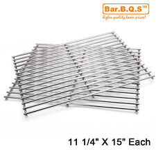 Weber 7521 7523 9855 BBQ Replacement Stainless Steel Cooking Grill Grid Grate