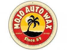 MOJO AUTO WAX San Diego CA Metal Sign Man Cave Body Shop Club Garage Barn v218