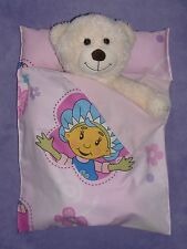 Pink Fifi and the Flowertots Cotton sleeping bag for Build a Bear size.