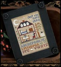One More Stitch Kit~Little House Needleworks