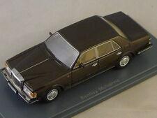 NEO 44170 - Bentley Mulsanne Turbo marron (conduite à droite) - 1980  1/43