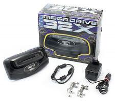 ## SEGA Mega Drive 32X Erweiterung mit allen Kabeln und OVP - TOP ##
