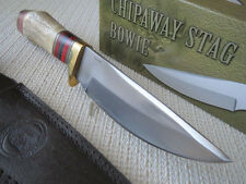 "Chipaway 10.75"" Deer Stag Stainless Steel Skinner Hunting Bowie Knife CW345 NEW"
