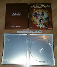 New Bethesda Fallout 4 Nuka World Steelbook NO GAME PS4 XBox One G2 Size