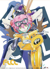 FLCL Fooly Cooly Wall Scroll Poster Anime Cloth Licensed MINT