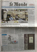 Journal de Naissance - Le Monde n°18930  du dimanche 4 et lundi 5 décembre 2005