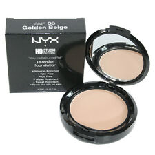 NYX HD Studio Stay Matte But Not Flat Powder Foundation SMP08 Golden Beige