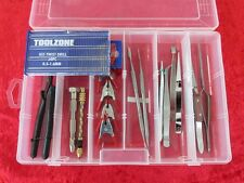 Box Set 7 Precision Craft Hobby Tool Kit & Drills Suit Airfix, Scale Model Maker