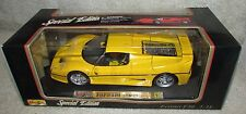Maisto 1995 Yellow Ferrari F50 1:18 Brand New NIB
